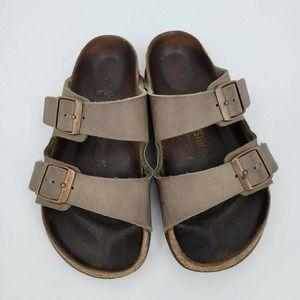 Birkenstock Arizona Two-Strap Leather Sandals 35